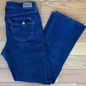 Levi's 515 Bootcut Jeans Mid-Rise Size 28
